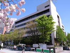 名古屋市立大学 看護学部 正面玄関